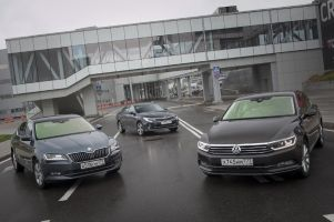 Сравнительный тест VW Passat, Skoda Superb и Kia Optima GT. Молодые ветра