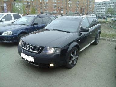 Audi A6 allroad quattro, 2003