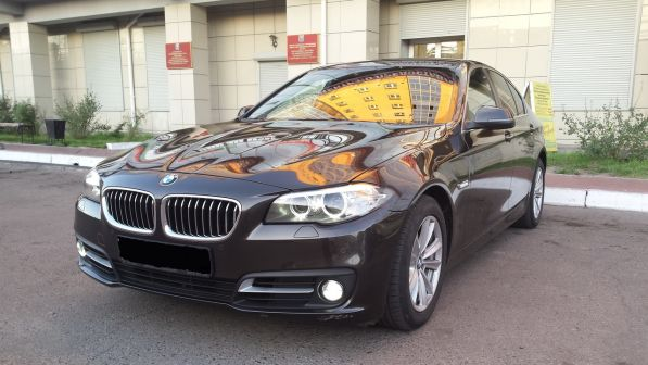 BMW 5-Series 2014 - отзыв владельца
