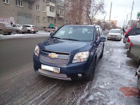 Chevrolet Orlando 2014 - отзыв владельца