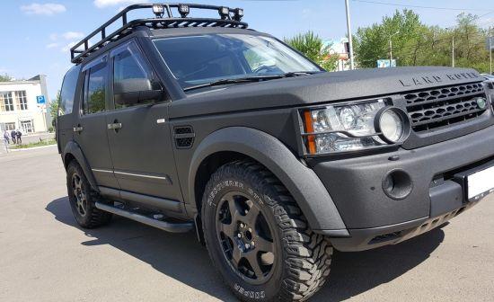Land Rover Discovery 2013 - отзыв владельца