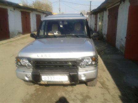 Land Rover Discovery 2004 - отзыв владельца
