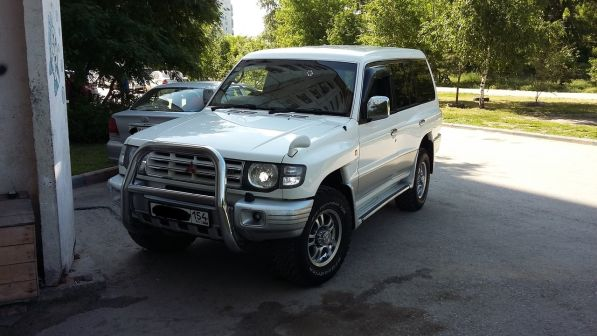 Mitsubishi Pajero 1997 - отзыв владельца