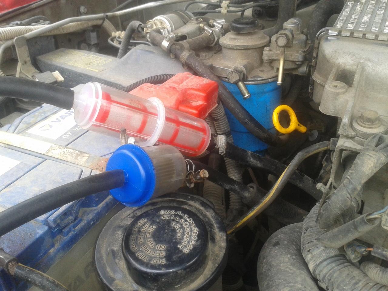 ремонт насоса топливного дизельного таетах 1.5.2