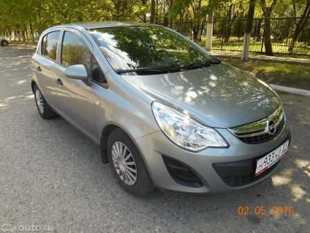 Opel Corsa 2013 - отзыв владельца