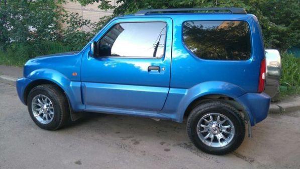Suzuki Jimny 2006 - отзыв владельца