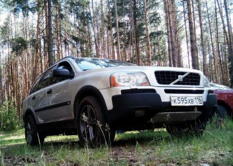 Volvo XC90 2005 - отзыв владельца