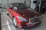 Hyundai Genesis. BURGUNDY RED_КРАСНЫЙ (YR6)