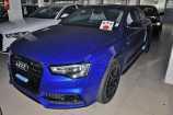 Audi A5. СИНИЙ ПЕРЛАМУТР (SEPARANG BLUE) (E9E9)
