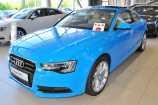 Audi A5. ЯРКО-ГОЛУБОЙ