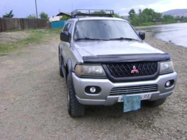 Mitsubishi Montero Sport, 2001 год, 600 000 руб.