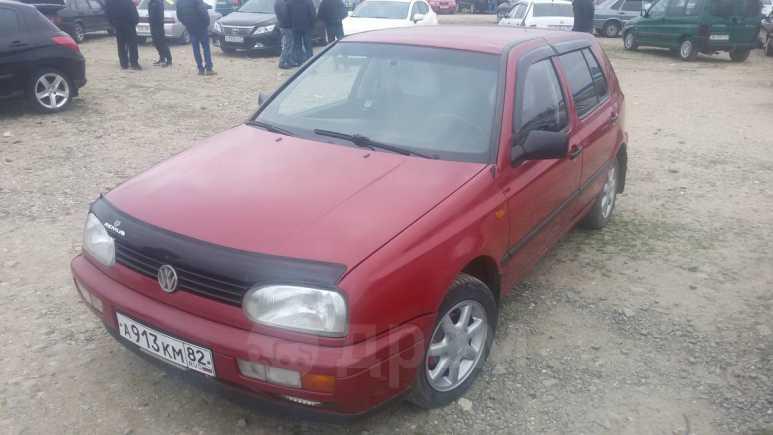 Volkswagen Golf, 1996 год, 190 000 руб.