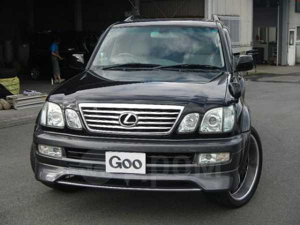Toyota Land Cruiser Cygnus, 2004 год, 619 000 руб.