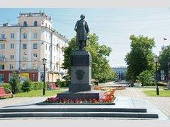 А.С. Пушкину (Кемерово) (Памятник)
