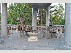 Ротонда со скульптурной композицией Пушкин и Натали (Памятник)