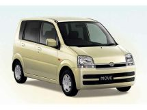 Daihatsu Move рестайлинг, 3 поколение, 12.2004 - 09.2006, Хэтчбек