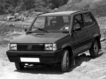 Fiat Panda 2-й рестайлинг 1991, хэтчбек 5 дв., 1 поколение