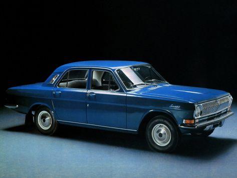 ГАЗ 24 Волга (Первая серия) 11.1967 - 04.1977