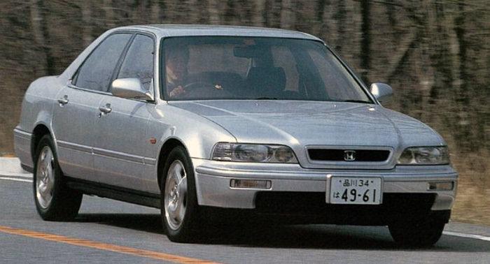 Honda Legend рестайлинг 1992, 1993, 1994, 1995, 1996 ...