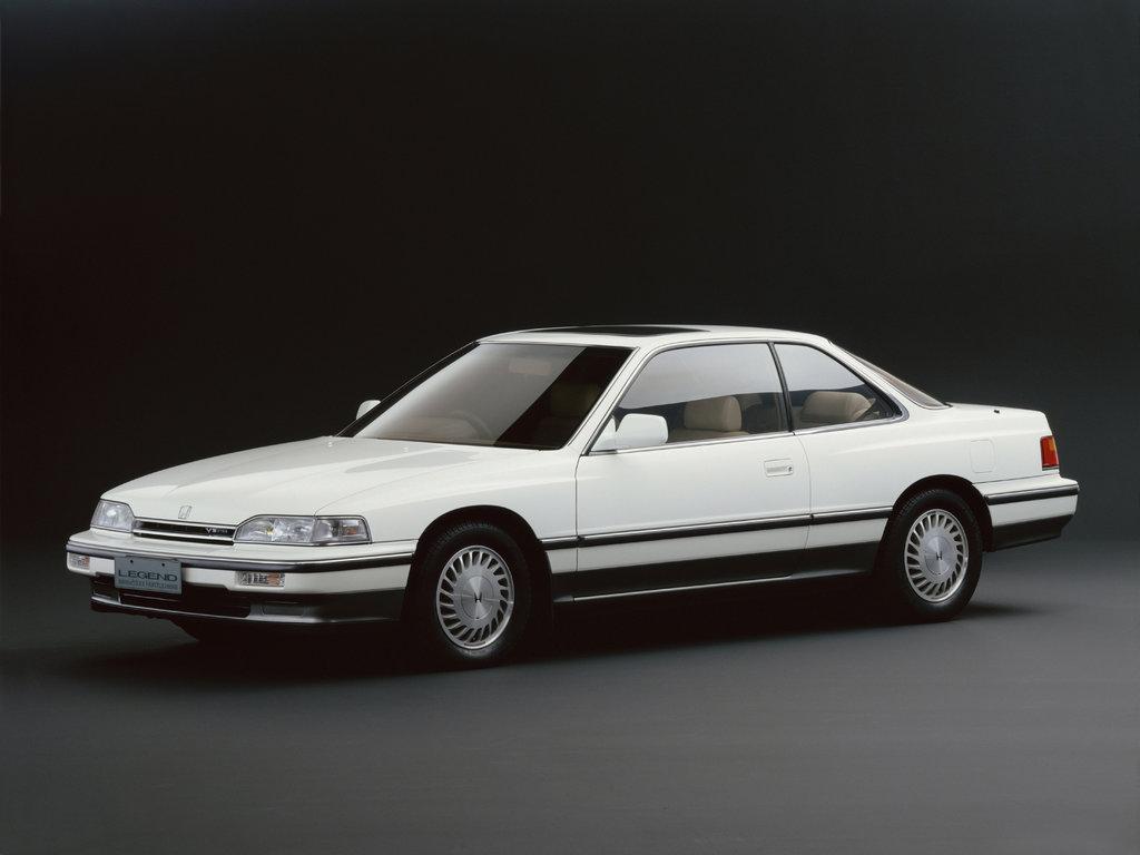 Honda Legend 1987, 1988, 1989, 1990, купе, 1 поколение технические характеристики и комплектации