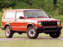 Jeep Cherokee рестайлинг 1997, джип/suv 3 дв., 2 поколение, XJ