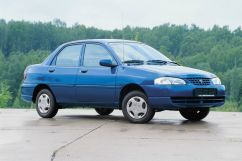 Kia Avella 1995, седан, 1 поколение
