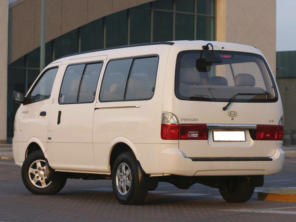 Kia Bongo рестайлинг 2004, 2005, минивэн, 3 поколение, CT технические характеристики и комплектации