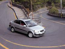 Kia Rio 2005, седан, 2 поколение, JB