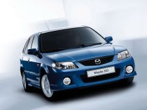 Mazda 323 рестайлинг 2000, универсал, 6 поколение, BJ