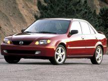 Mazda Protege рестайлинг 2000, седан, 3 поколение, BJ