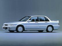 Mitsubishi Galant 1987, седан, 6 поколение