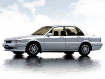 Mitsubishi Galant рестайлинг 1989, седан, 6 поколение