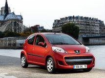 Peugeot 107 рестайлинг 2009, хэтчбек, 1 поколение
