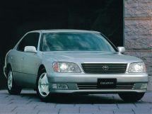 Toyota Celsior рестайлинг 1997, седан, 2 поколение, XF20