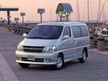 Toyota Granvia 2-й рестайлинг 1999, минивэн, 1 поколение, xH10