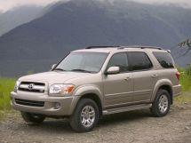 Toyota Sequoia рестайлинг, 1 поколение, 08.2004 - 11.2007, Джип/SUV 5 дв.
