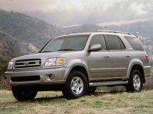 Toyota Sequoia 1 поколение, 09.2000 - 07.2004, Джип/SUV 5 дв.