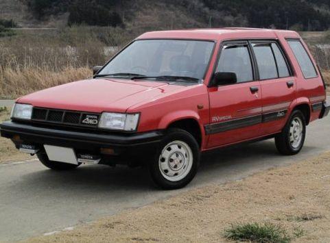 Toyota Sprinter Carib (AL25) 08.1982 - 01.1988