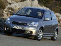 Toyota Yaris рестайлинг 2003, хэтчбек 3 дв., 1 поколение, XP10