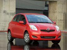 Toyota Yaris рестайлинг 2009, хэтчбек, 2 поколение, XP90