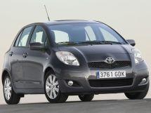 Toyota Yaris рестайлинг, 2 поколение, 09.2009 - 01.2013, Хэтчбек