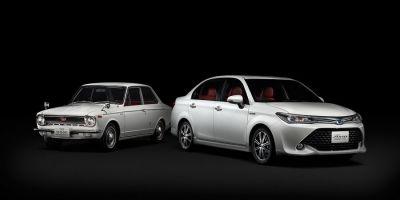 Toyota представила юбилейную Corolla Axio