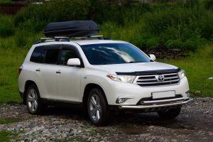 Путешествие по Горному Алтаю в 2016-м на Toyota Highlander