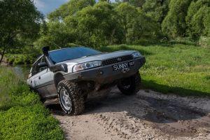 Тест Subaru Outback, подготовленного дляжесткого бездорожья