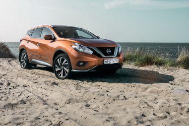 Первый тест-драйв российского Nissan Murano нового поколения. Ассимиляция