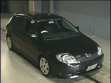 Toyota Corolla Runx, 2001
