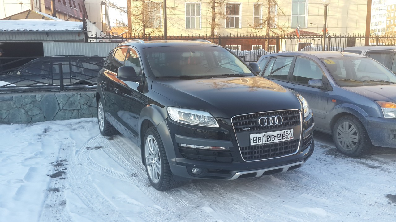 Audi q7 2008 review