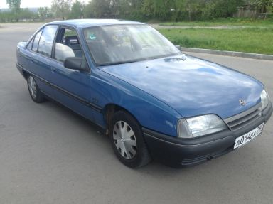 Opel Omega, 1987