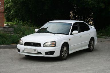 Subaru Legacy B4 2002 отзыв автора | Дата публикации 12.07.2015.