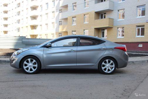 Hyundai Avante 2011 - отзыв владельца